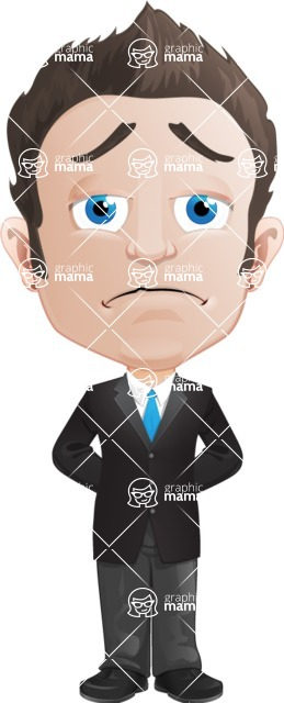 George as Mr. Competent - Sad2