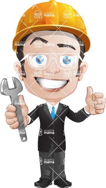 George as Mr. Competent - Repair