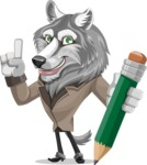 Wolf Wilder - Pencil