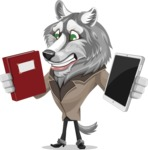 Wolf Wilder - Book and iPad