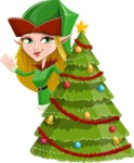 Candy Elf-licious - Christmas Tree