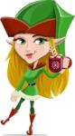 Candy Elf-licious - Choco Mug