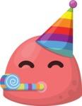 The Squishy Party Emoji