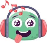 The Meloman Emoji