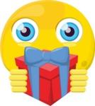 The Pleasant Surprise Emoji