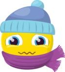 The Sweet Freezing Emoji
