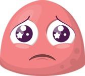 The Cute Sad Emoji