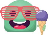 The Energetic Summer Emoji