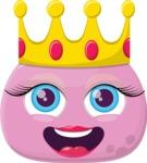 The Pink Princess Emoji