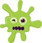 The Shocked Splash Emoji