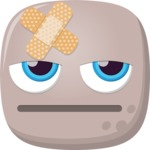 The Bored Sick Emoji