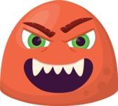 The Evil Monster Emoji