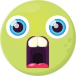 The Jaw Drop Emoji