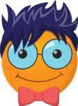 The Cute Nerdy Emoji