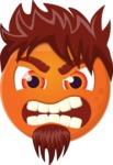 The Emotional Rocker Emoji