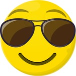 The Cool Kid Emoji