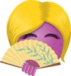 The Shy Lady Emoji