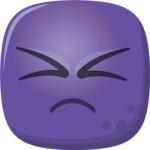 The Frustrated Emoji