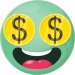 The Crazy Money Emoji