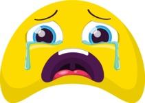 The Crying Loud Emoji