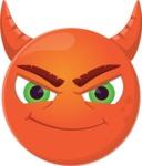 The Cute Evil Devil Emoji