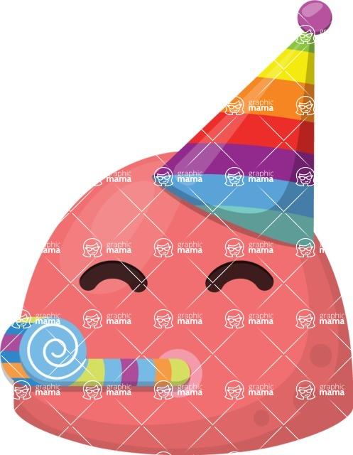 Vector Emoji Creator - The Squishy Party Emoji