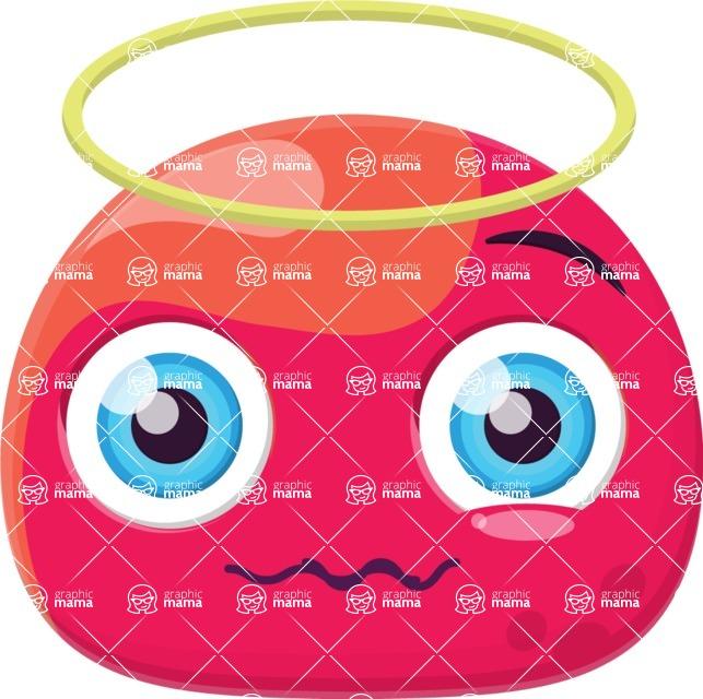 Vector Emoji Creator - The Guilty Angel Emoji