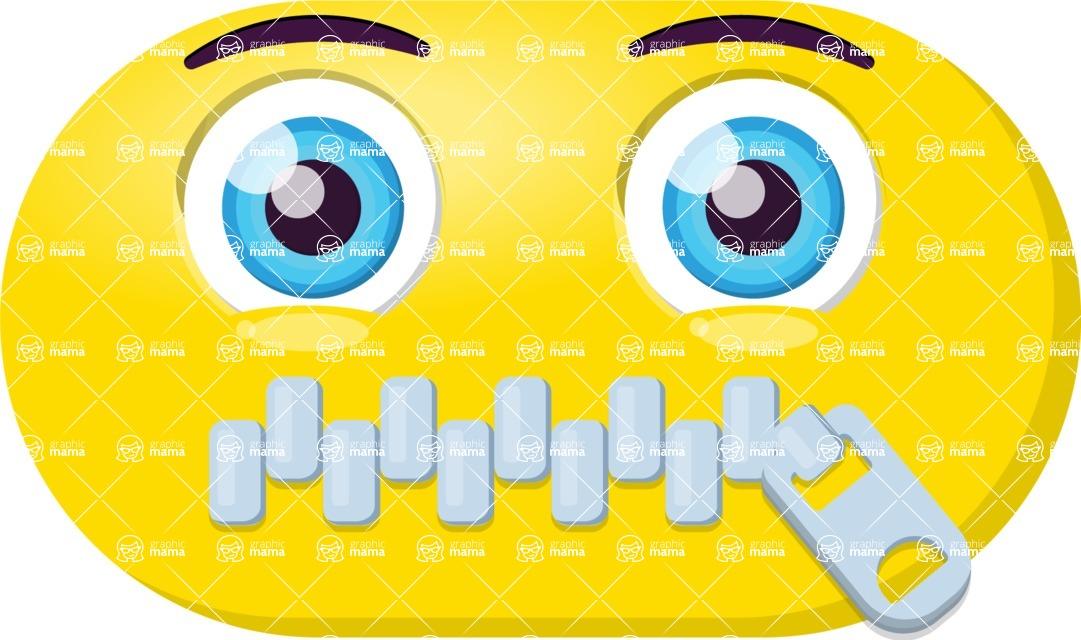 Vector Emoji Creator - The Silenced Emoji