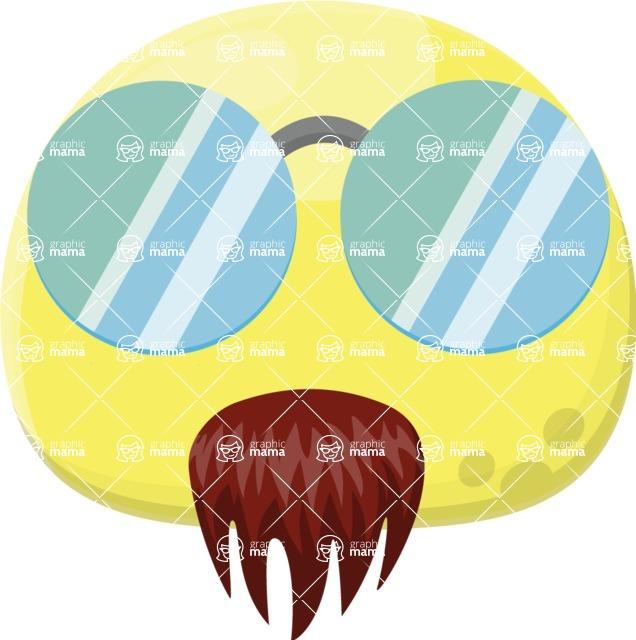 Vector Emoji Creator - The Extravagant Artist Emoji