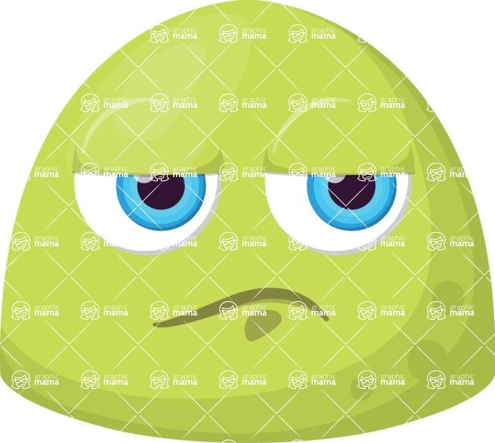 Vector Emoji Creator - The Bored Chubby Emoji