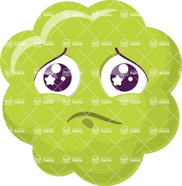 Vector Emoji Creator - The Cute Melancholic Cloud