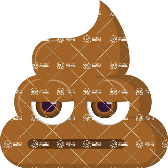 Vector Emoji Creator - The Disappointed Emoji