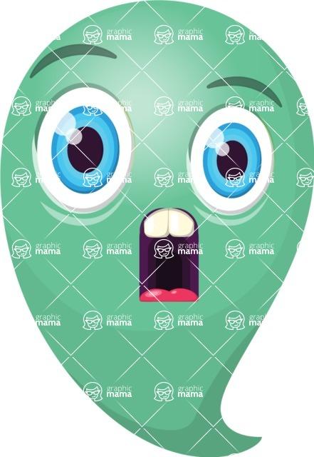 Vector Emoji Creator - The Shocked Emoji
