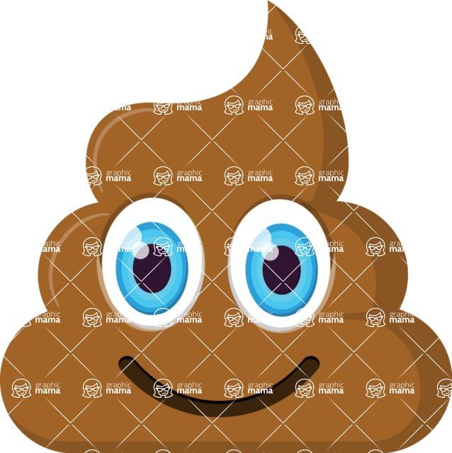Vector Emoji Creator - Happy P Emoji