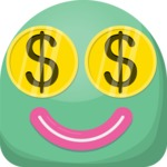 Vector Emoji Creator - The Money Lover Emoji