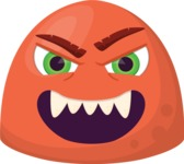 Make Your Own Emoji - The Evil Monster Emoji
