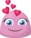 Vector Emoji Creator - The Little Sweetheart Emoji