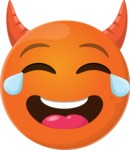 Make Your Own Emoji - The Innocent Laughing Devil