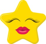 Make Your Own Emoji - The Kissing Star Emoji