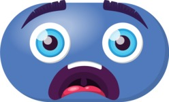 Make Your Own Emoji - The Big Scared Emoji