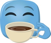 Make Your Own Emoji - The Coffee Lover Emoji