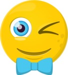 Make Your Own Emoji - The Stylish Winking Emoji