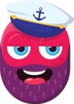 Vector Emoji Creator - The Sea Captain