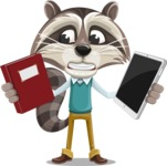 Mr. Coon - Book and iPad