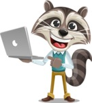 Mr. Coon - Laptop 1