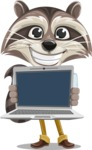 Mr. Coon - Laptop 2