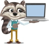 Mr. Coon - Laptop 3