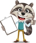 Mr. Coon - Notepad 1