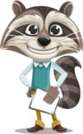 Mr. Coon - Notepad 4