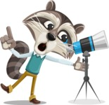 Mr. Coon - Telescope